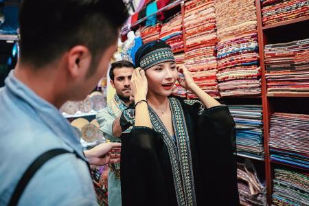 Shop up a storm at Dubai's souqs