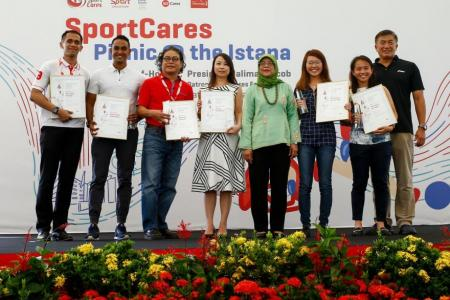Unsung heroes' efforts recognised through inaugural SportsCares awards