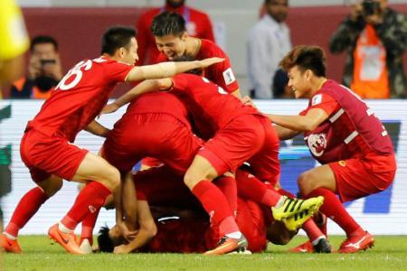 Vietnam pip Jordan to reach Asian Cup quarter-finals