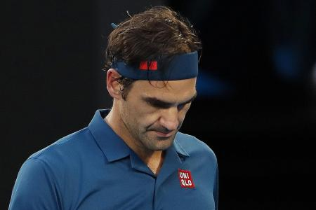 Federer: Defeat not the beginning of my end