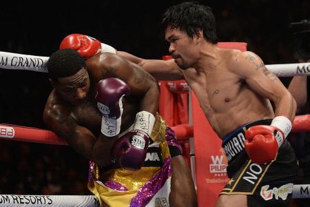 Triumphant Manny eyes Money rematch