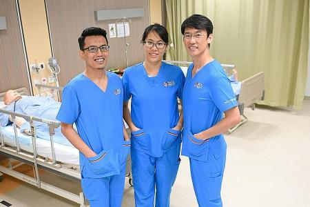 They make mid-career switch to a more caring profession