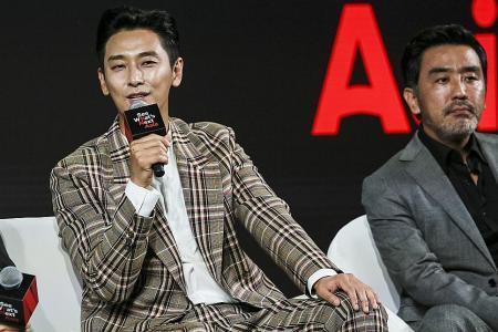 What scared Ju Ji-hoon most when filming Kingdom wasn't the zombies