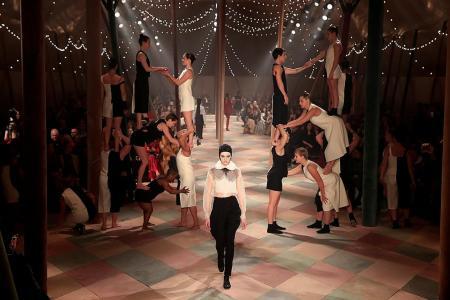 Chiuri's female-driven circus act for Dior at Paris Fashion Week