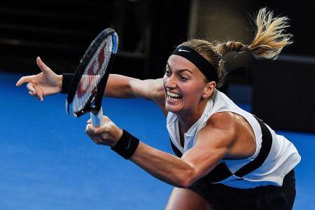 First semi-final of Kvitova's 'second career'