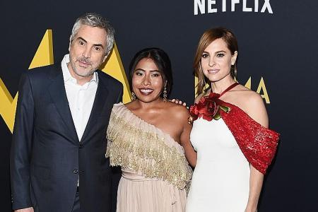 Mexico celebrates as Roma grabs 10 Oscar nominations