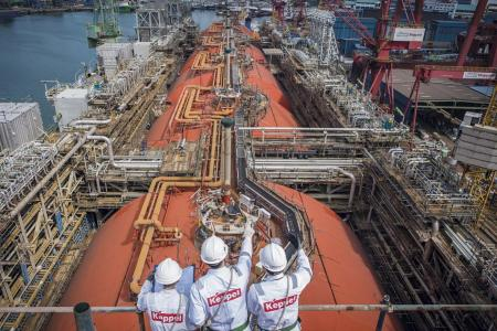 Keppel Corp reports $135m profit for Q4