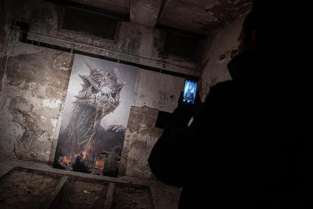 Fans flock to Berlin exhibition to see Game of Thrones paintings
