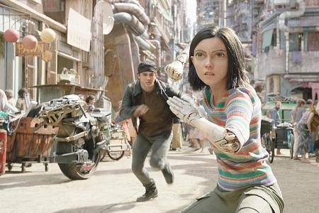 Director, actress on bringing Cameron's Alita: Battle Angel to life