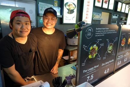 Get a leg up with chicken and pork leg bowls at The Leggy Business