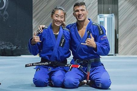 MMA champion Angela Lee: Couples who train together, stay together