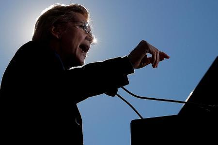 US Senator Warren launches her bid to be president in 2020