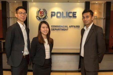 Singapore cops seize $27million linked to China Ponzi scheme