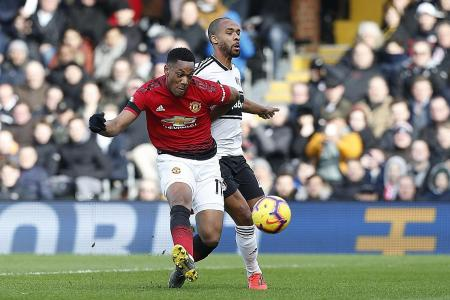 Martial takes a dig at Mourinho's style