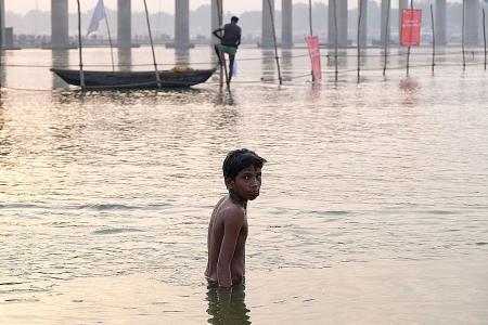 Anti-trafficking camps set up at India's Kumbh Mela festival