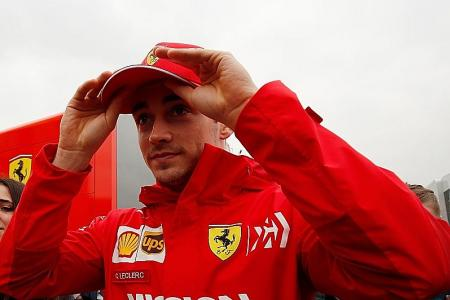 Vettel considers Ferrari teammate Leclerc a threat