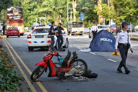 Newspaper vendor, 70, killed in accident involving bus and lorry