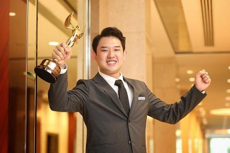 Goh makes it a hat-trick of awards