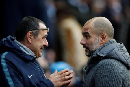 Sarri: Guardiola lucky to be given time at City