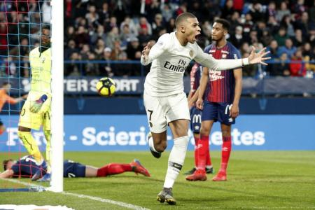 Mbappe scores a double in PSG's comeback victory