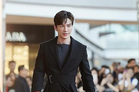 Lawrence Wong's not afraid to experiment with style