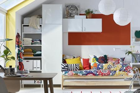 Ikea adds extra fun to the bedroom with smart space-saving products