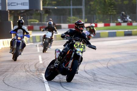 Racing on home ground