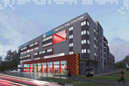 Punggol's first fire station to open by mid-2020