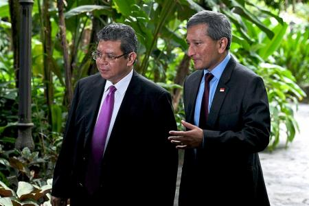 Malaysian minister says Vivian's remark on water agreement 'reckless'