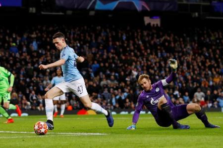 Man City slip seven past Schalke