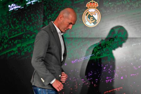 Zidane goes back to the future with Real