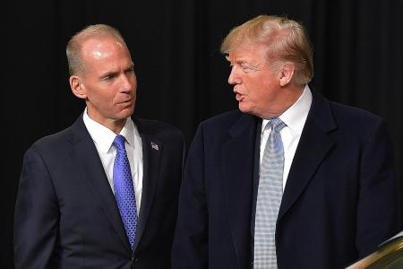 737 Max stays in the air in US after Trump talks to Boeing CEO