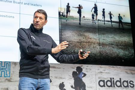 Supply chain issues to slow Adidas sales growth