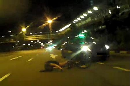 Doctor almost dies after being hit by a taxi