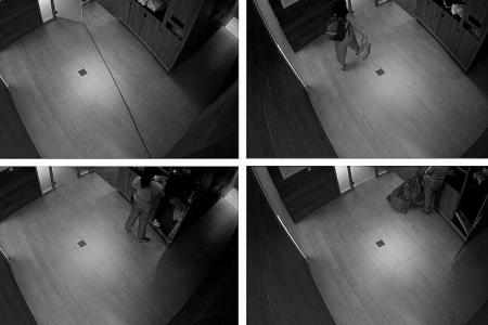 Gym has CCTV near changing areas, members feel violated