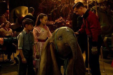 Tim Burton helps new Dumbo film take flight