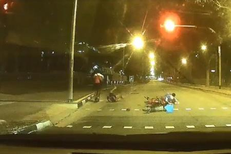 E-scooterist, 18, in Pasir Ris 'hit-and-run' incident arrested