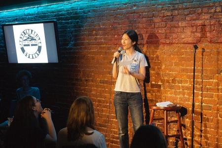 Singapore-raised American Jocelyn Chia trades law career for comedy