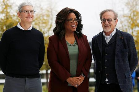 Apple embraces Hollywood with new TV streaming service