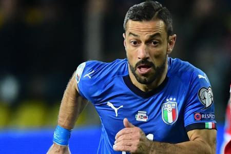 Quagliarella, 36, sets Italian record as oldest scorer