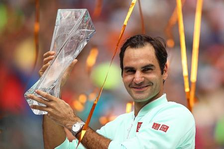 Roger Federer claims 101st career title