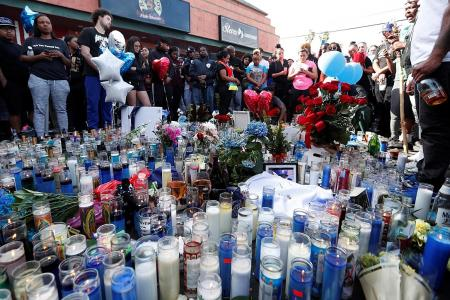 Mourners wounded in stampede at slain rapper Nipsey Hussle's vigil