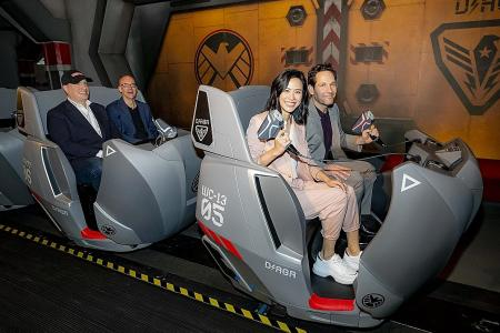 Shrink down at world-first Ant-Man and The Wasp ride in HK Disneyland