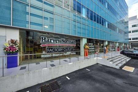 Harvey Norman's Warehouse Sale offers factory outlet prices