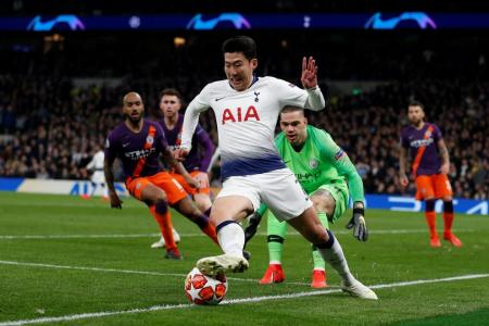 Son strikes to give Spurs edge over Man City