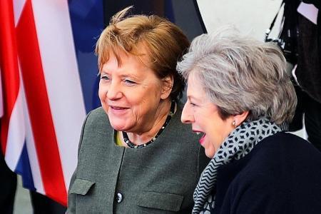 Merkel backs longer Brexit delay than what UK is seeking
