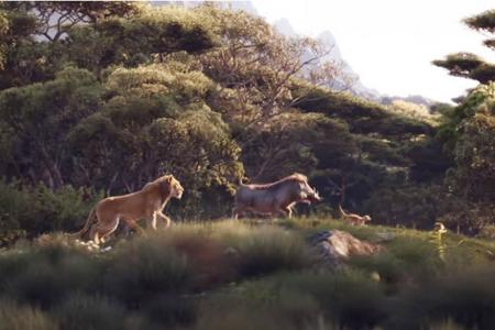 Lion King remake roars to life with new trailer