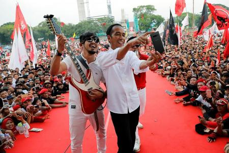 Music for the masses winning Indonesian voters' hearts