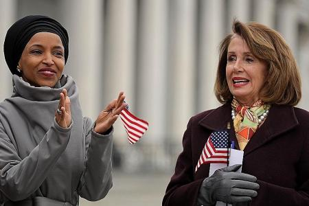 Pelosi calls for safety review for Muslim congresswoman