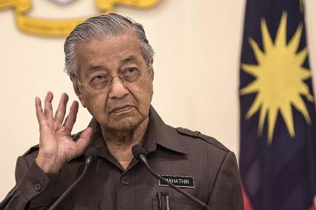 Mahathir: No need for HSR to Singapore right now